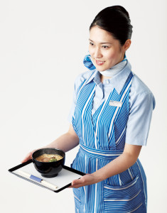ANA Stewardess with Miso Daichi